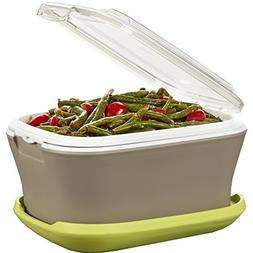 Fit & Fresh Gatherings Go Side Insulated Food Saver/Server