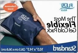 FlexiKold Gel Ice Pack  - Two  Reusable Cold Therapy Packs