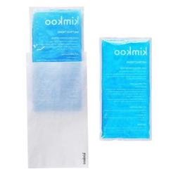 Gel Ice Pack Cold Compress-2 Packs Large Soft Cold/Hot Thera