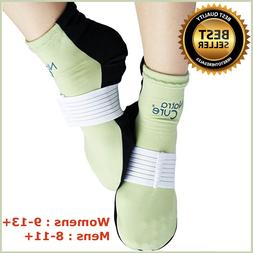 Gel Ice Packs For Feet W/ Compression Straps Swelling, Edema