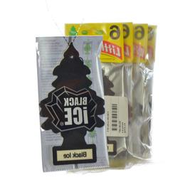 Little Trees Hanging Car and Home Air Freshener, Black Ice S