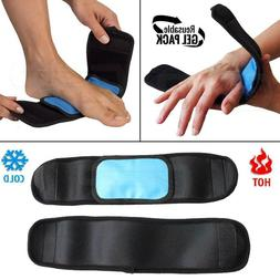 Hot and Cold Therapy Reusable Gel Ice Pack - Ankle Wrist Foo