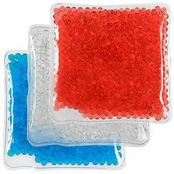 Hot/Cold Gel Bead Pack  | Ice Pack or Heat Pad | Multicolor