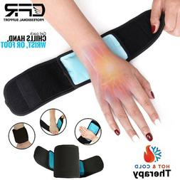 Hot Cold Gel Ice Heat Pack Ankle Wrist Foot Muscle Injuries