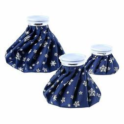 """Ohuhu Hot Cold Ice Pack Reusable Ice Bag 3 Pack 11"""" 9"""" 6"""" Ho"""