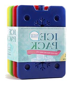 Blue Ele Ice Pack for Lunch Box, Freezer Packs for Insulated