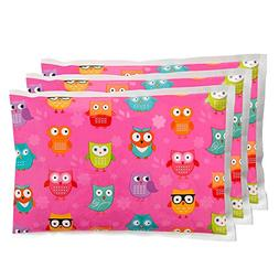 Ice Pack for Lunch Boxes  by Bentology  - Pink Owl Design