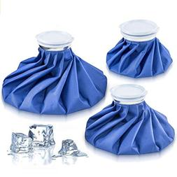 "Xubox Ice Pack, 3 Pack Reusable Cold Packs in Size 6"" 9"" 11"""