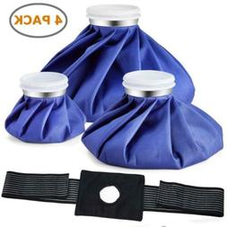 Ice Bag Packs, Ohuhu 3 Pack  Reusable Bags 3-Pack with wrap