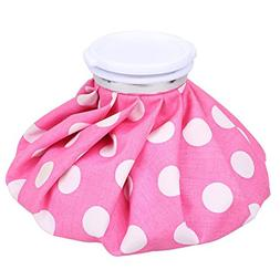 Ice Bag - NEWSTYLE Hot and Cold Reusable Pack 9 inch - Pink