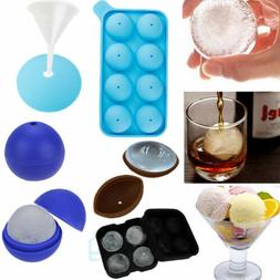ICE Balls Maker Round Sphere Tray Mold Cube Whiskey Ball Coc