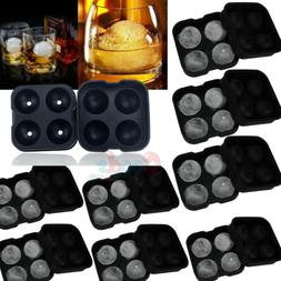 ICE Balls Maker Round Sphere Tray Silicone Mold Cube Ball Co