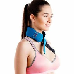 Cool Relief Ice Pack Bandana Head Wrap, Neck Cooling Scarf,