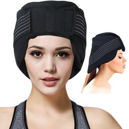 Ice Cap for Headache and Migraine - Pain Relief Hat with Ice