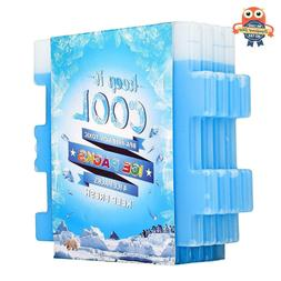 Ice Pack Cooler 4 Pack Reusable Cooling Igloo Bag Lunch Box