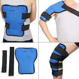 Ice Gel Pack Wrap Hot Cold Therapy Shoulder Back Knee leg Pa