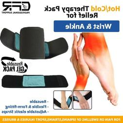 Ice Gel Wrap Hot Cold Pack Therapy Pain Relief For Ankle Wri