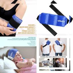 Ice Pack for Injuries, Ohuhu Reusable Gel Cold & Hot 1 pack
