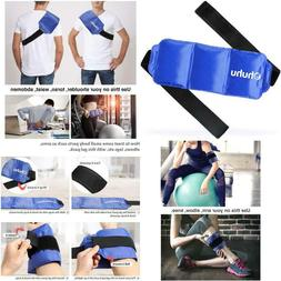 Ice Pack For Injuries, Ohuhu Reusable Gel Cold  Hot Therapy