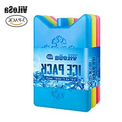 ViLoSa Ice Packs for Lunch Box&Cooler,Reusable ice Pack for
