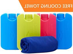 Ice Pack For Lunch Box and Coolers With FREE Cooling Towel -