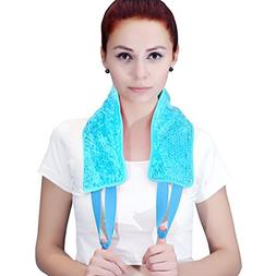 ice Packs for Injuries, Hot/Cold Therapy for Neck Shoulder B