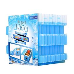 OICEPACK Ice Packs (Set of 10) Cool Pack for Lunch Box F