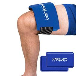 ColePak Comfort Ice Packs for Injuries 2 Gel Packs w/Ice Wra