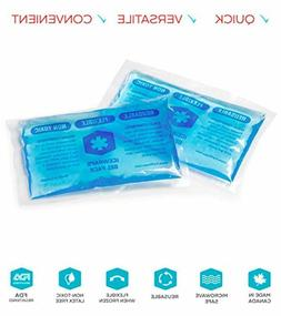 IceWraps 3x5 Gel Ice Pack Reusable Small Hot Cold Ice Packs