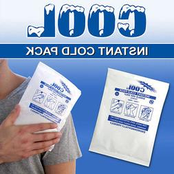 INSTANT DISPOSABLE ICE PACKS COLD COMPRESS 4X5 24 PACK