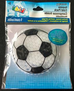 Kids Soccer Ball Instant Relief Reusable Gel Cold Ice Pack L