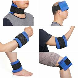 Knee Heat Wrap Gel Ice Pack Hot/ Cold Therapy Injuries First