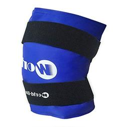 WORLD-BIO Knee Ice Pack Large Gel Compression Wrap for Injur