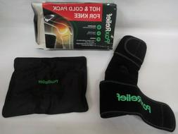 Knee Ice Pack Gel Wrap - Cold  Hot Flexible Therapy Sleeve -