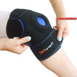 Knee Ice Pack Wrap By Therapaq: Hot  Cold Therapy Knee Suppo
