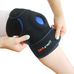 Knee Ice Pack Wrap by TheraPAQ: Hot & Cold Therapy XS-XL