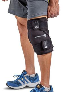 Ice / Heat Therapy Wrap For Left / Right Knees - Large / Xtr