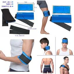 Koo-Care Flexible Gel Ice Pack  Wrap With Elastic Strap For