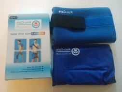 Koo-Care Large Gel Ice Pack Wrap Long Strap Hot Cold Therapy