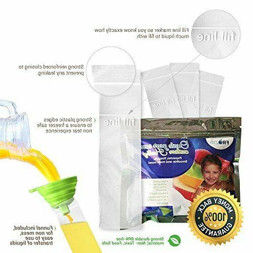 Frozip Popsicle Mold Bags| Free Freezer With Zip ..