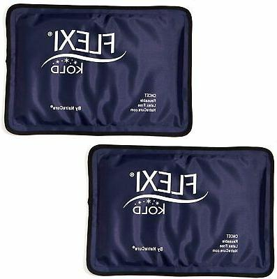 2 Ice Therapy Packs for Pain and