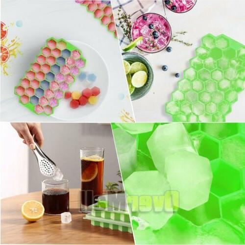 2Pack Honeycomb Shape Frozen Ice Mold New