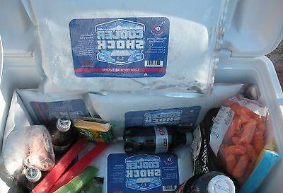 Cooler Shock Mid Size 4 Pack - Ice, You Fill, Save!