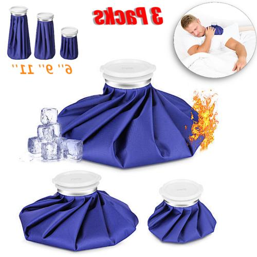 3 Pack Ice Bag Healthcare Reusable for Cold Therapy Injury P