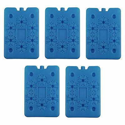 5 Pack Blue Ice Pack for and BPA Free, Reusable Lasting