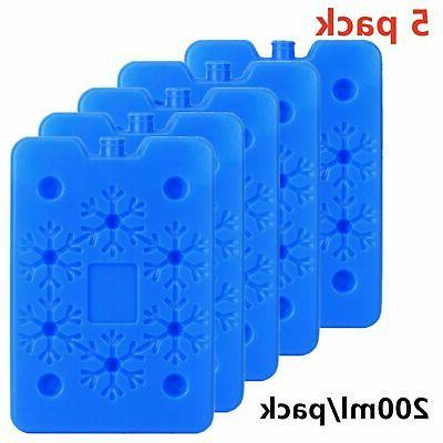 5 Ice Pack and Cooler Reusable Long Lasting