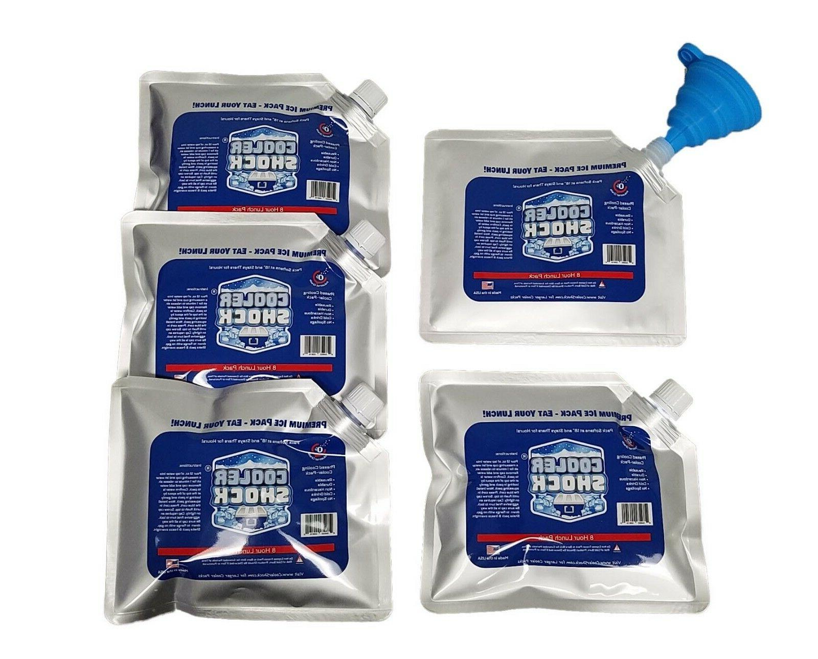 5 pack of cooler shock lunch size