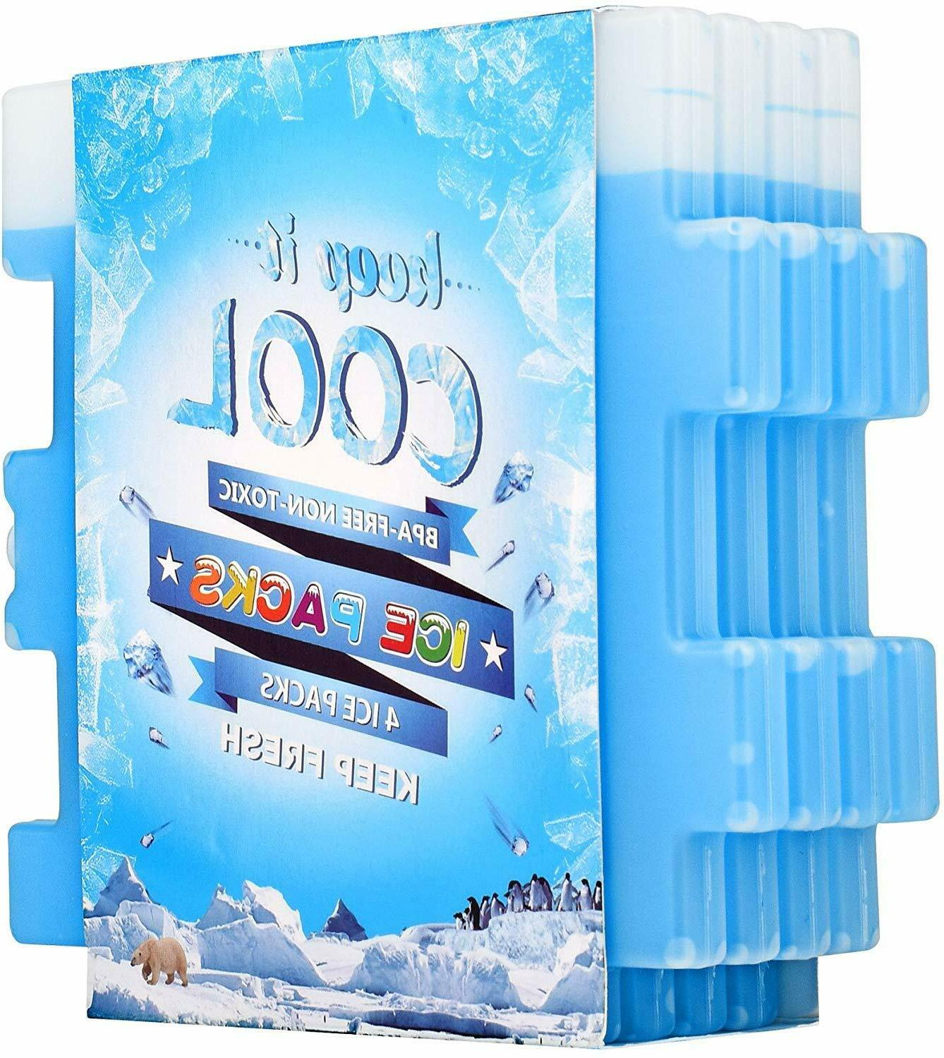 6 pcs ice packs cool pack