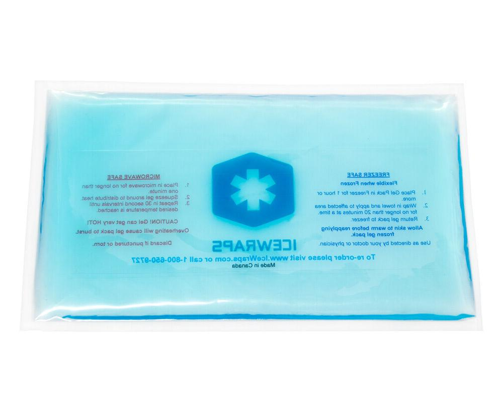 6x10 gel pack reusable hot pack microwavable