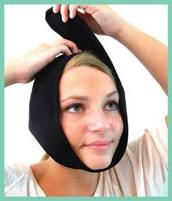 Face Caddy, Cold Therapy Wraps TMJ, Migraines, Wisdom Teeth, Jaw Heat Packs, Cold